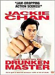 The Legend of Drunken Master (Action Kung Fu; DVD, 2001) Rare Brand New Sealed