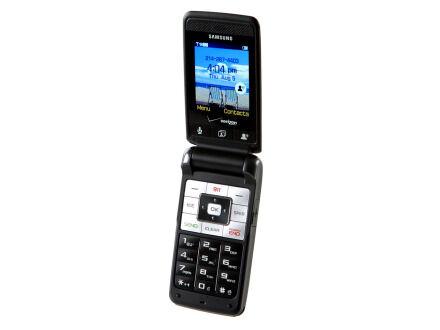 Samsung Haven SCH-U320 - 24MB - Charcoal Gray (Verizon) Cellular Phone