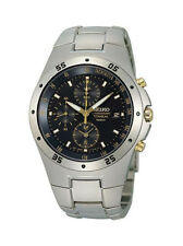 Seiko Luxury Round Wristwatches with Chronograph