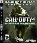 Call of Duty 4: Modern Warfare (Sony PlayStation 3, 2007)