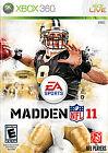 Madden NFL 11 (Microsoft Xbox 360, 2010)