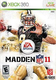 BRAND-NEW-Madden-NFL-11-Xbox-360-2010-SEALED