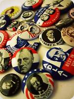 How to Identify Fake Political Buttons and Pins