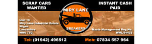 MIRY LANE CAR BREAKERS WIGAN