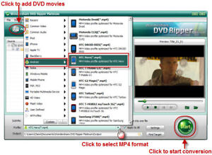How to rip DVD Movie to HTC Hero/Dream/Magic/Droid Eris