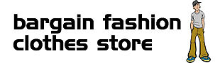 Bargain fashion clothes store