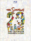 The Simpsons: The Complete Twentieth Season (Blu-ray Disc, 2010, 4-Disc Set)