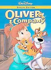 Oliver And Company DVD 2002