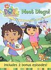 Dora the Explorer - Meet Diego (DVD, 2003, Checkpoint Packaging)