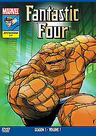 The Fantastic Four - Series 1 - Vol.1 (DVD, 2009) NEW SEALED MARVEL Cartoon Dvd!