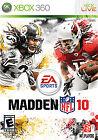 Madden NFL 10 (Microsoft Xbox 360, 2009)