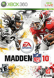 Madden NFL 10  (Xbox 360, 2009)