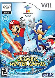 Mario And Sonic At The Pyeongchang 2020 Olympic Winter Games Release Date.Mario Sonic At The Olympic Winter Games Wii 2009 For Sale Online Ebay