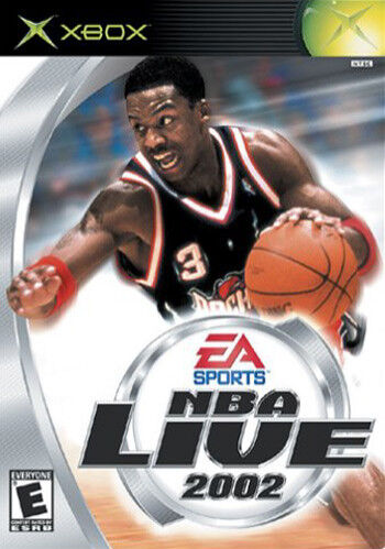 NBA Live 2002 For Microsoft Xbox Boxed With Instructions