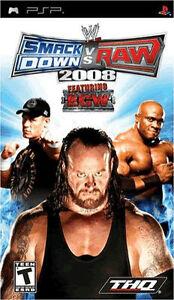 SmackDown Vs Raw 2008 (PSP), Good Sony PSP, Sony PSP Video Games