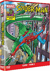 MARVEL Spider-Man - The Original Animated Series 1 - Vol 3 EPISODES 14- 20 NEW