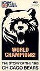 Chicago Bears 1985 - World Champions - The Story of the 1985 Chicago Bears (VHS, 1991)