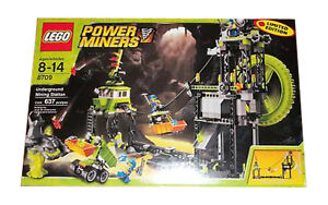 Lego Power Miners  8709 Underground Mining Station New New New Sealed bd5b9b