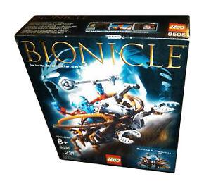 Lego-Bionicle-8595-Takua-Pewku-Warriors-New-Sealed-HTF