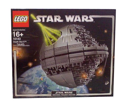 Lego Star Wars Death Star Ii 10143 Ebay