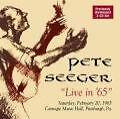 Live In 65 (Remastered) von Pete Seeger (2009)