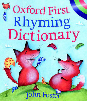 """""""AS NEW"""" Foster, John, OXFORD FIRST RHYMING DICTIONARY, Paperback Book"""