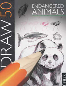 Draw-50-Endangered-Animals-by-Lee-J-Ames-Paperback-1993