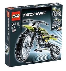 Lego-Technic-Dirt-Bike-8291-Brand-New-Never-Opened-RARE