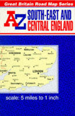 South East and Central England, Geographers' a-Z Map Company, Very Good Book