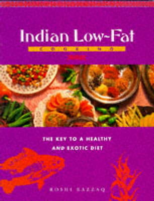 """""""AS NEW"""" Razzaq, Roshi, Indian Low Fat Cooking, Paperback Book"""