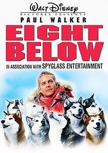Eight Below (DVD, 2006, Widescreen)  Paul Walker  NEW/SEALED   FREE SHIP