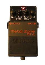 Boss Metal Guitare Zone Distorsion (mt-2)-afficher Le Titre D'origine
