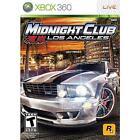 Midnight Club: Los Angeles (Microsoft Xbox 360, 2008)