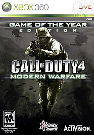 Call of Duty 4: Modern Warfare -- Game of the Year Edition (Microsoft Xbox  360, 2008) - European Version