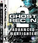 Tom Clancy's Ghost Recon Advanced Warfighter 2  (Sony Playstation 3, 2007) (2007)
