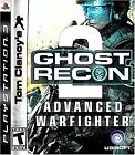 Tom Clancy's Ghost Recon Advanced Warfighter 2  (Playstation 3, 2007) (2007)