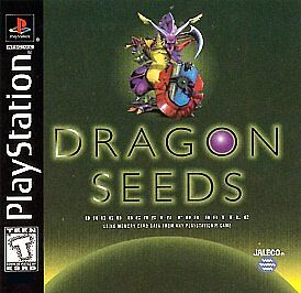 DRAGON SEEDS PS1 PLAYSTATION 1 DISC ONLY