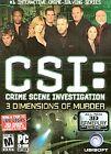 CSI: Crime Scene Investigation -- 3 Dimensions of Murder (PC, 2006) - European Version