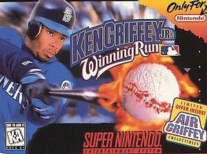 992e5ca853 Ken Griffey Jr.'s Winning Run, (SNES) 45496830519   eBay