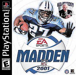 Madden NFL 2001 (Sony PlayStation 1, 2000)