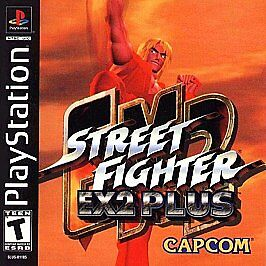 Street Fighter Ex2 Plus Sony Playstation 1 2000 Japanese Version For Sale Online Ebay