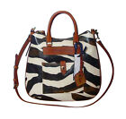 Dooney & Bourke Zebra Hobo