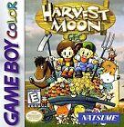 Harvest Moon GBC (Nintendo Game Boy Color, 1999)