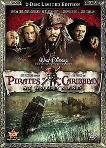 Pirates-of-the-Caribbean-At-Worlds-End-DVD-2-Disc-Set-LIMITED-EDITION-Bilingual