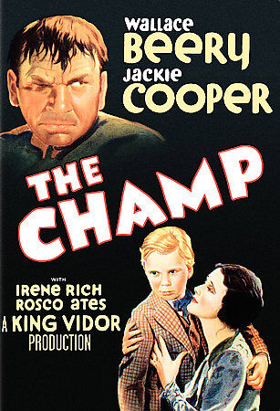 The Champ New DVD Region 1 2006 Warner Bros B&W 1931 Wallace Beery Jackie Cooper