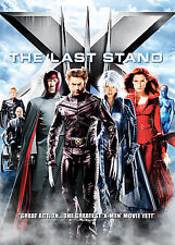"X-Men 3 ""THE LAST STAND"" Action DVD - 3 Alternative Endings - Brand New- SEALED!"