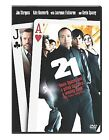 21 (DVD, 2008, Single Disc Version)