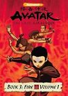 Avatar: The Last Airbender - Book 3: Fire - Vol. 1 (DVD, 2007)