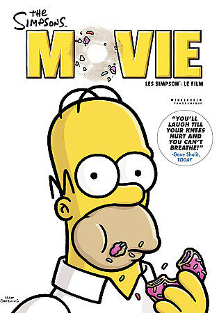 The Simpsons Movie (DVD, 2007, Canadian Widescreen)2