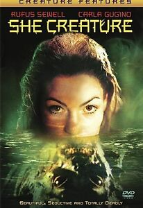 She-Creature-DVD-2002-VERY-RARE-GREAT-MOVIE-CARLA-GUGINO-MINT-DISC-W-INSERT